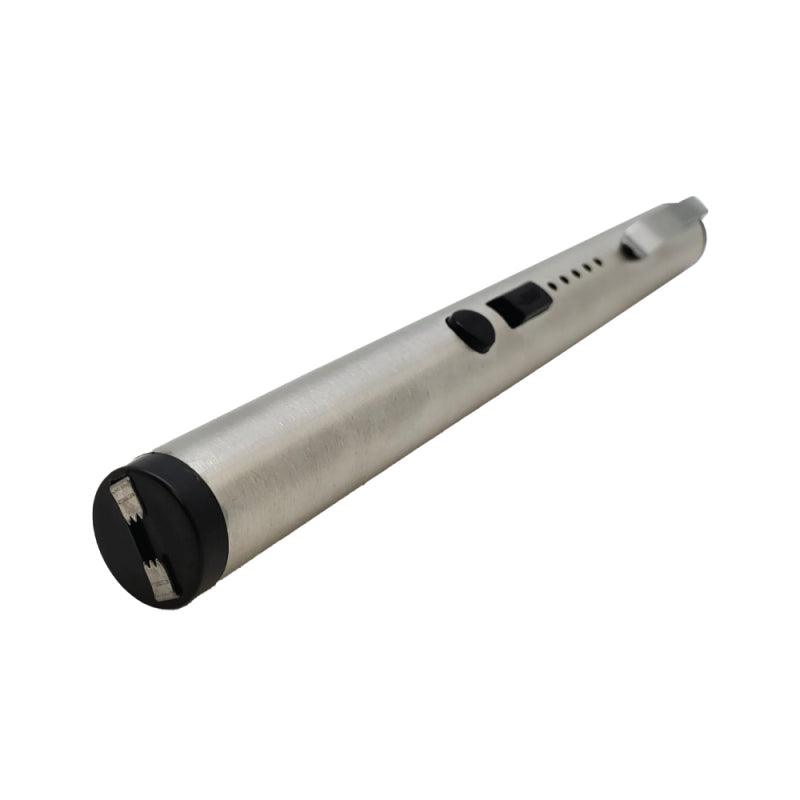 This patent-pending Pain Pen is the most realistic looking stun pen ever produced in the color silver.