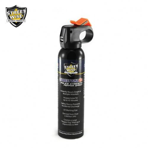 Pepper spray ideal for camping, hiking, hunting or everyday self defense protection for women and men.