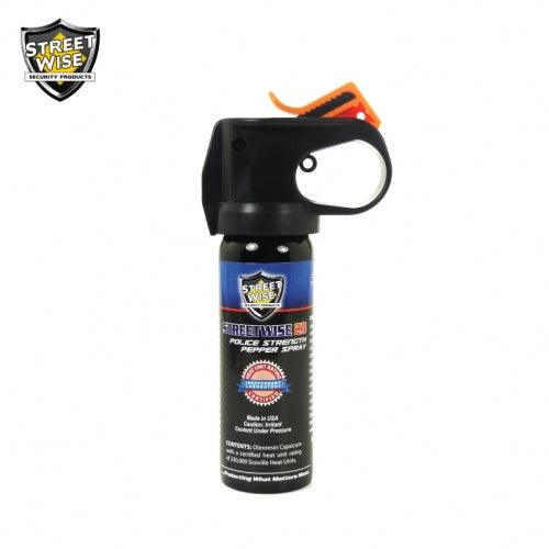 Streetwise Security Firemaster powerful hot 23% pepper spray with UV marking dye.