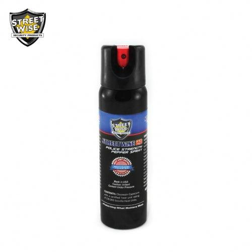 Hot pepper spray instantly repels attackers offering you effective personal self defense protection.