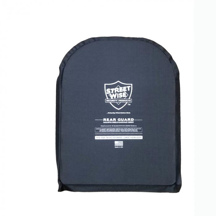 Streetwise Security 11 x 14 inch bulletproof backpack insert level IIIA protection.