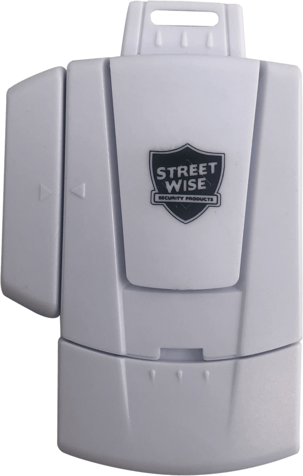 Streetwise Security Mini window alarm offers effective protection for home and business.