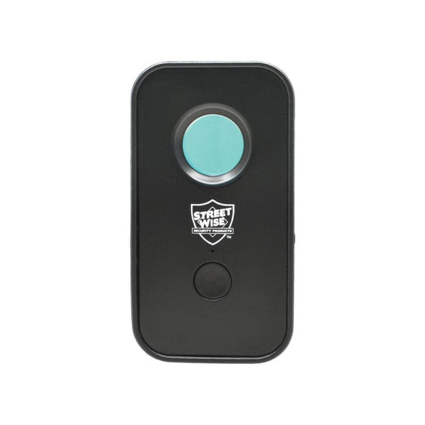 The Streetwise Spy Spotter hidden camera and bug detector includes motion detection alarm.