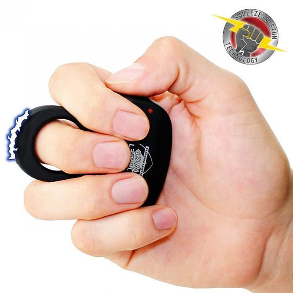 Streetwise Security Sting Ring stun gun self defense solution for both women and men.