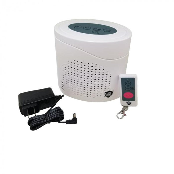 The Streetwise Virtual K9 barking dog alarm for hone and business security protection.
