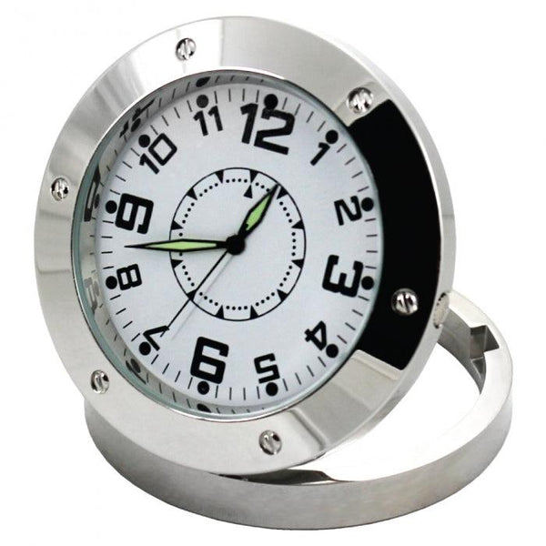 Surveillance DVR spy clock includes secret hidden camera inside  with motion detector (4GB).