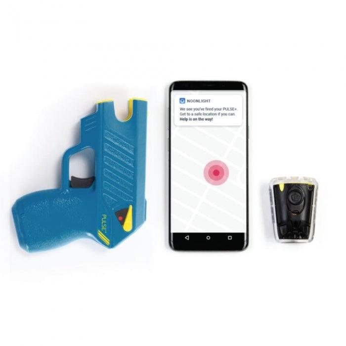 Taser Pulse Plus Noonlight includes smart phone application that uses GPS to show location when fired for protection.