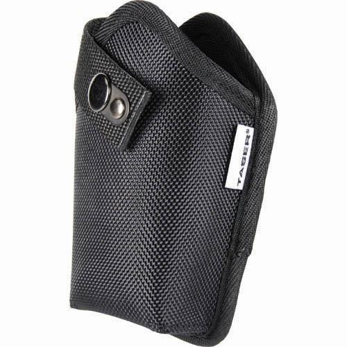Carry your Taser Pulse safely with this high quality black nylon holster for women and men.
