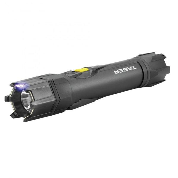 The Taser Strikelight stun gun with flashlight offers effective personal self defense when needed for women and men.