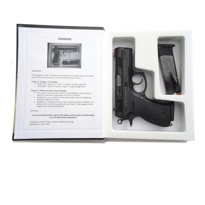 Hand Gun Hider Book Safe with Hidden Compartment