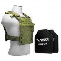 NcStar Vism tactical vest armor plate carrier.