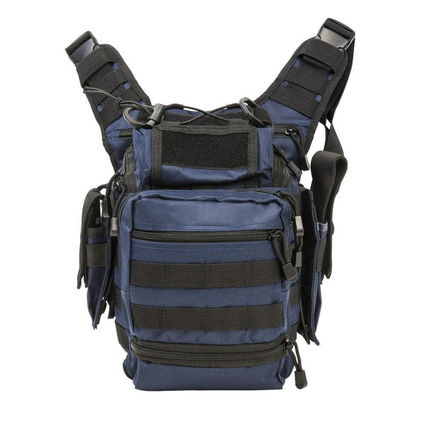 VISM First Responders Utility Bag Constructed of tough PVC material, made to accommodate hook and loop accessories PALS Webbing are added on front
