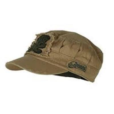 The Voodoo Ranger Roll Tactical Cap for women and men in the color coyote brown.