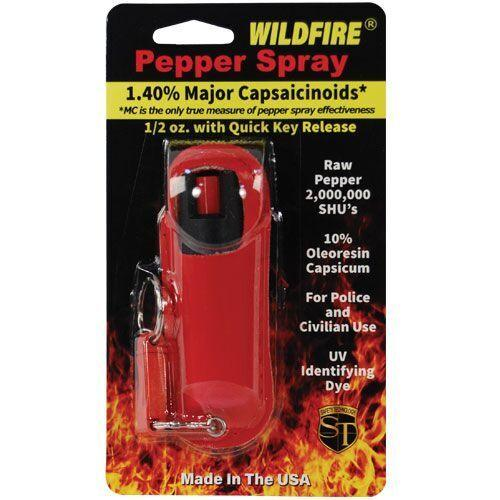 Red hot halo pepper sprays for women and men self defense protection.