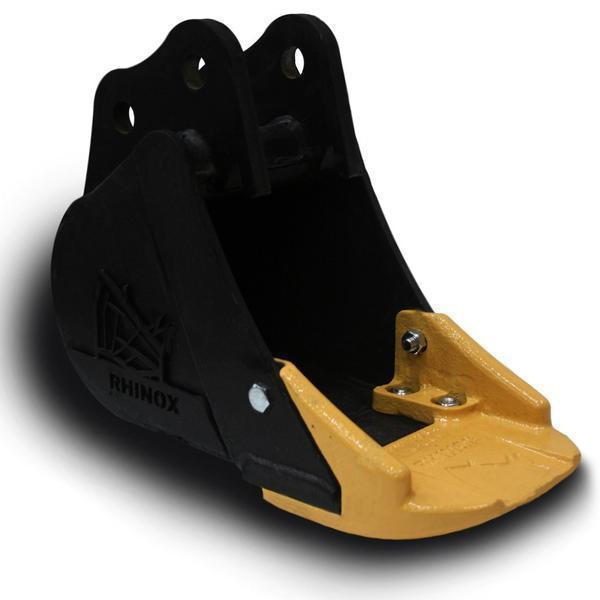 JCB 8030 ZTS Utility Bucket with Unitusk Blade - 12 Inch
