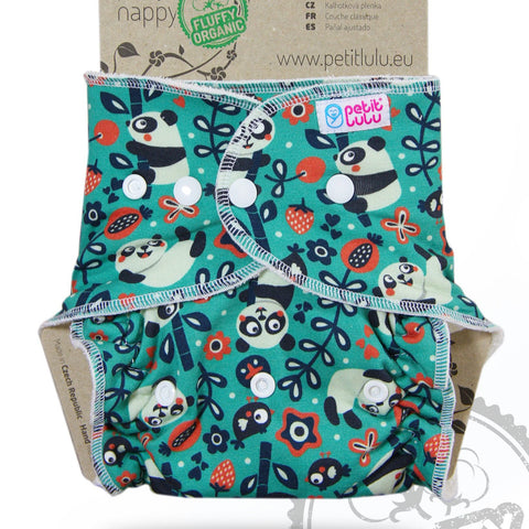 Petit Lulu Maxi Night Nappy Fluffy Organic