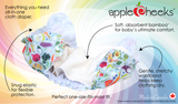 AppleCheeks OneSize AIO Nappy (& Pull-Up)