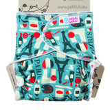 Petit Lulu Fitted Nappy Day/Night