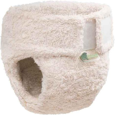 Little Lamb Organic Cotton Shaped Nappy