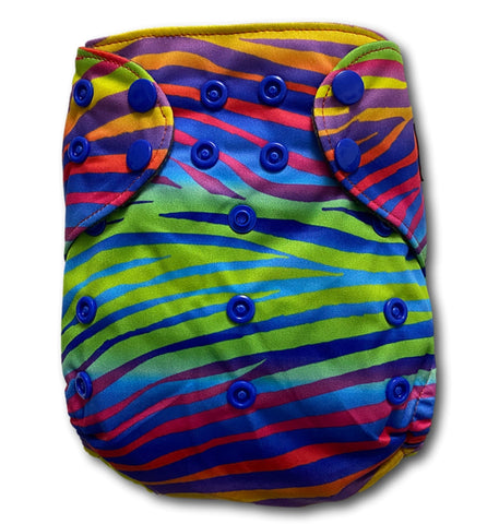 CLEARANCE TJ's Premium OneSize Pocket Nappy