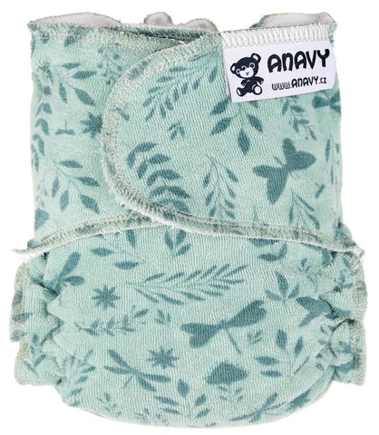 Anavy Onesize Fitted Nappy - Nippa Fastening