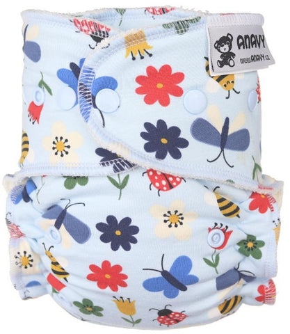 Anavy Onesize Fitted Nappy - Snaps