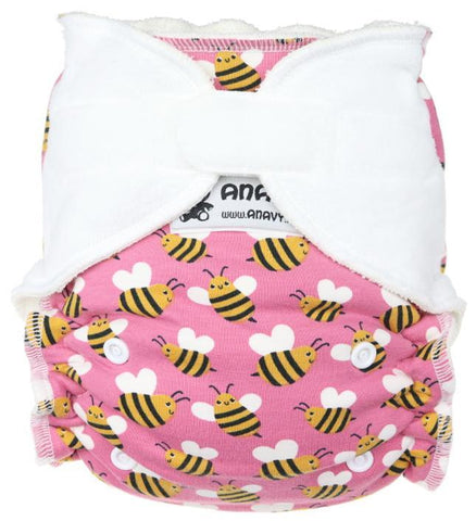 Anavy Onesize Fitted Nappy - Hook & Loop