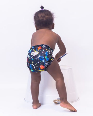 SALE AppleCheeks OneSize AIO Nappy (& Pull-Up)