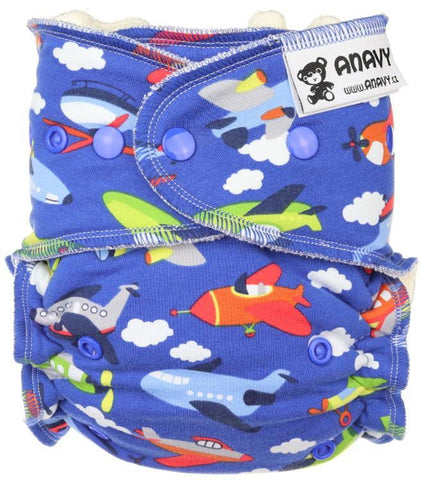 Anavy Onesize Fitted Nappy
