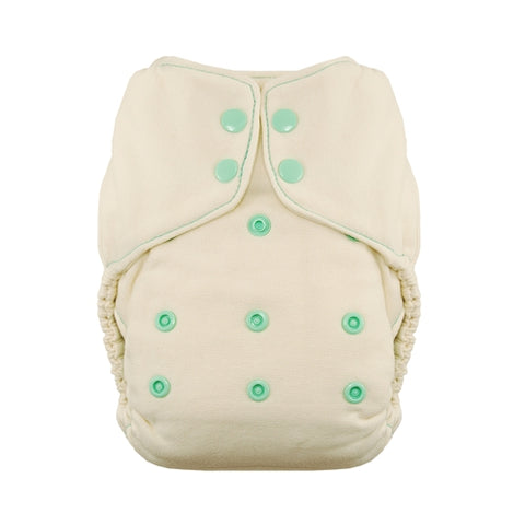 Thirsties OneSize Natural Fitted Nappy