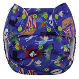 Blueberry Capri nappy wrap