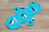 NoobyNoo Cloth Sanitary Pad - Bat