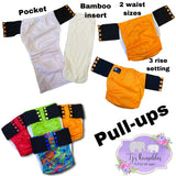 TJ's Pull-Up Pocket Nappy