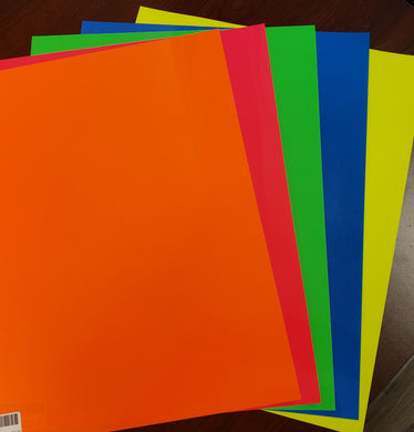 Fluorescent Sample pack