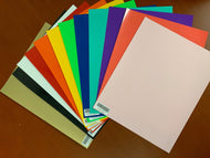HTV Sample Pack (12 sheets 15