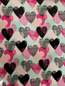 Colorful Hearts HTV