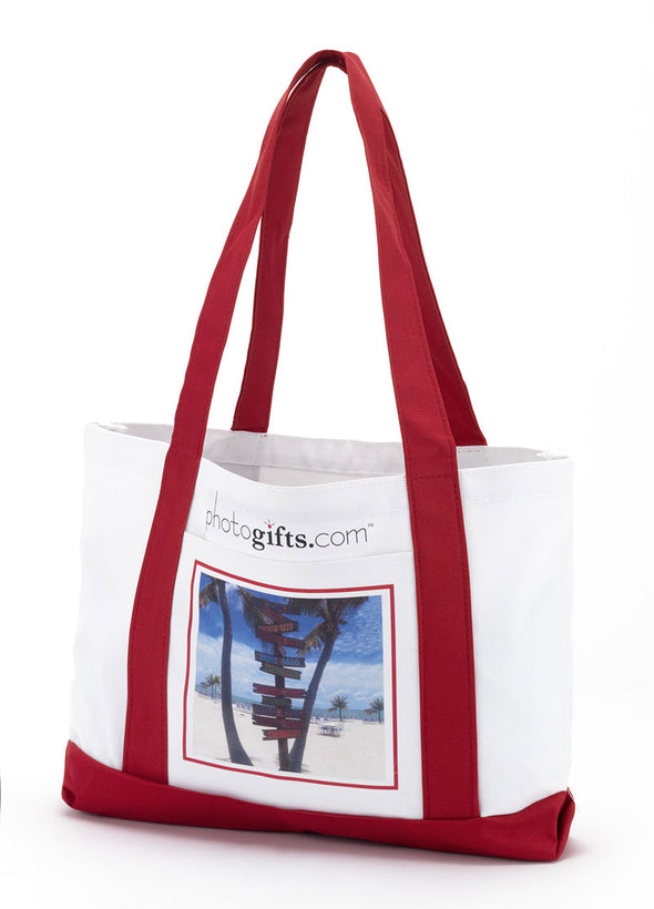 Boat Photo Tote Bags