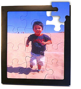 Acrylic Puzzle with Display Frame