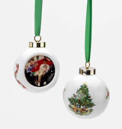 Porcelain Christmas Ornament