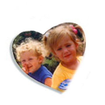 Heart Photo Magnets