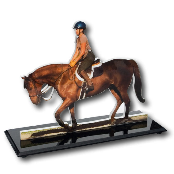 Photo Sculpture Equestrian
