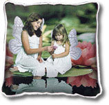 Woven Photo Pillow