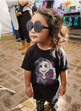 Button Eye Mom Toddler Short Sleeve Tee