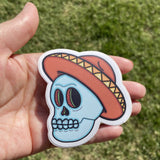 Sombrero Vinyl Sticker