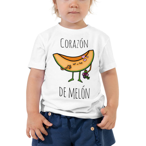 Corazon de Melon Toddler Short Sleeve Tee
