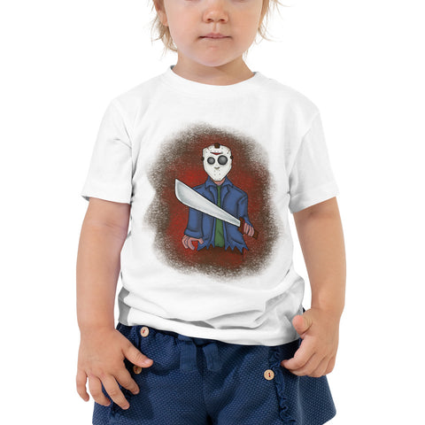 Scary Movie It's Friday Toddler Short Sleeve Tee