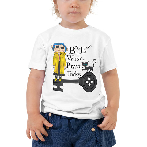 Button Eyes Dolls Toddler Short Sleeve Tee