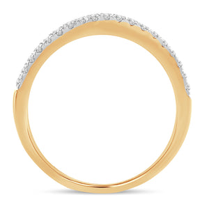 14K Yellow Gold 0.25 Carat Ring Guards Enhancers