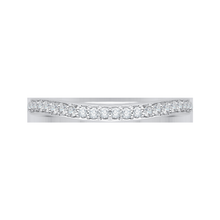 Load image into Gallery viewer, Euro Shank Diamond Wedding Band CARIZZA CA0056B-37W