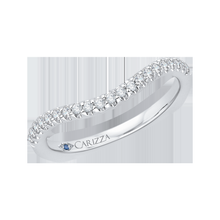 Load image into Gallery viewer, Euro Shank Diamond Wedding Band CARIZZA CA0057B-37W